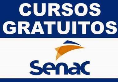 SENAC abre inscrições para diversos cursos totalmente GRÁTIS.