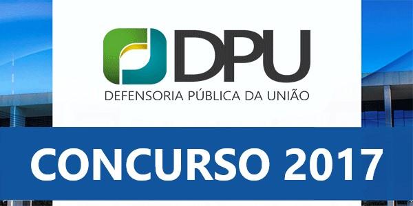 Concurso Defensoria Pública da União – DPU