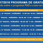 Senac PSG abre inscrições para diversos cursos gratuitos – EAD e Presencial . -2017/2018