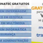INSCRIÇÕES PARA CURSOS NO PRONATEC – CONFIRA A VASTA LISTA DE CURSOS DISPONÍVEIS!
