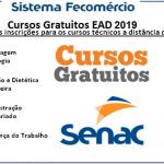 Estão abertas as inscrições para os cursos técnicos gratuitos do Senac para 2019- Confira!