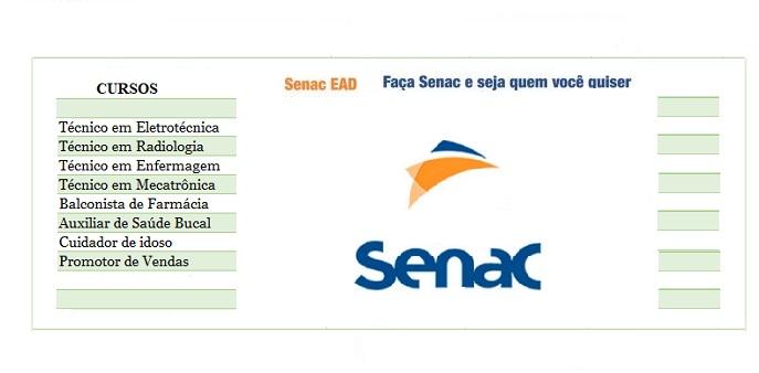 Cursos Técnico gratuito pelo Pronatec e Senac –  Veja  aqui como se inscrever. As inscrições são gratuitas.