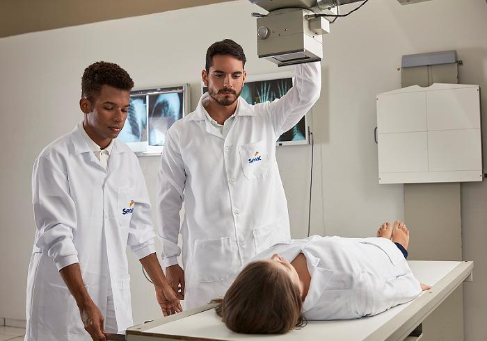 Senac abre Inscrição para Curso Técnico em Radiologia. Cursos gratuito EaD