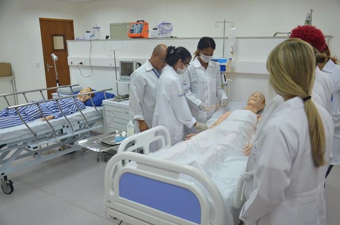 Inscrições abertas para o curso técnico em enfermagem  gratuito Senac EAD.