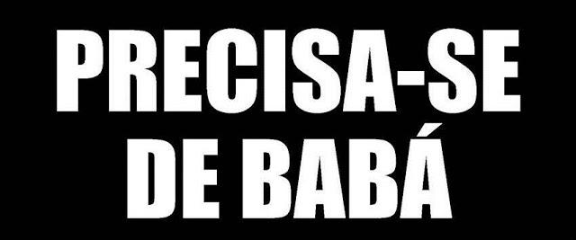 PRECISA-SE DE BABÁ PARA INÍCIO IMEDIATO – SALÁRIO R$ 1.450,00